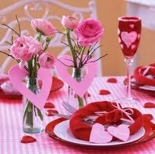 Décoration pour la Saint-Valentin