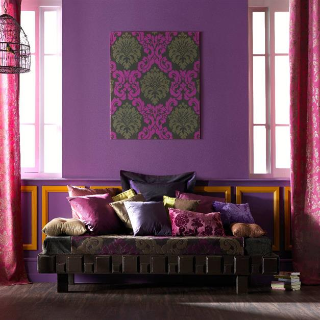 D co 50 nuances de violet id e d co - Idee deco salon violet ...