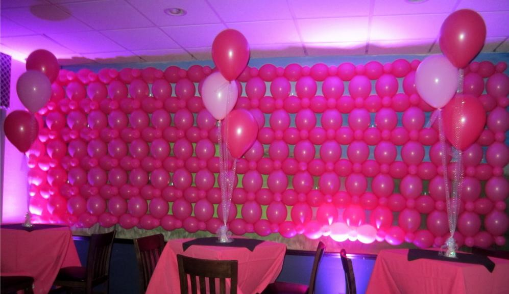 Comment utiliser les ballons en v nementiel idee deco - Faire un mur de photos decoration ...