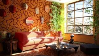 id e combles ethnique. Black Bedroom Furniture Sets. Home Design Ideas