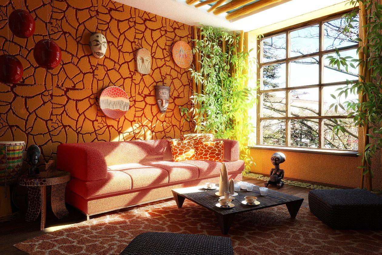la d coration ethnique. Black Bedroom Furniture Sets. Home Design Ideas