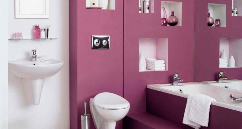D coration des toilettes id e d co for Idee decoration toilettes