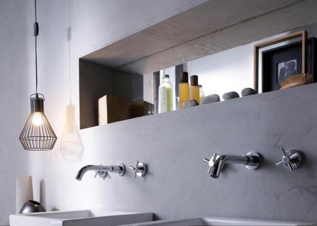 3 id es pour utiliser la peinture effet - Peinture effet beton pour meuble ...