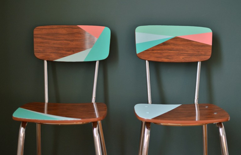 diy chaise formica