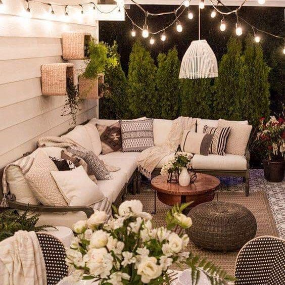 les astuces pour am nager un salon de jardin id e d co. Black Bedroom Furniture Sets. Home Design Ideas