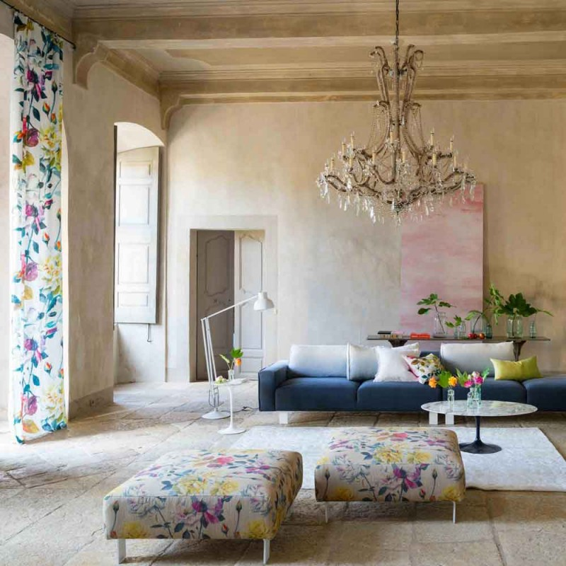 Déco : un air de printemps dans le salon